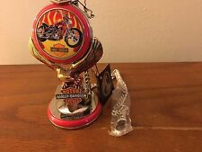 Franklin Mint Harley Davidson Billy Bike Pocket Watch and Stand