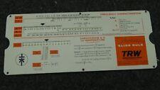 TRW Semiconductors Varicap Slide rule/Calculator
