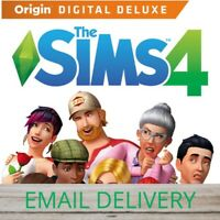 🎁The Sims 4 Digital Deluxe🎁 PC/MAC Game Region Free WARRANTY