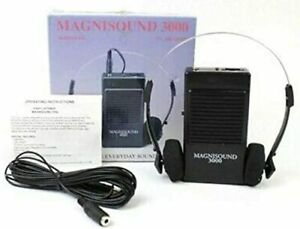 Magnisound 3000 Amplifier Device,Voice Enhancer, Hearing Aid,15Ft Cable Included