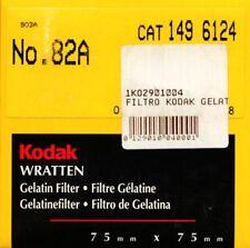 Kodak Wratten Filtro Gelatina 82A Corrección de color (75mmx75mm)