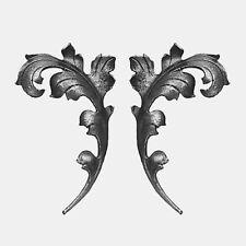 Zierblätter 1 Paar - Zierelement Tor Zaun Fähnchen Blätter Zierblatt - 1408719