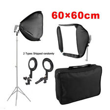 60cm Portable Flash Speedlite Hotshoe Softbox Diffuser Soft Box for Speedlight