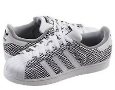 NEW ADIDAS SUPERSTAR SNAKE PACK WHITE BLACK ATHLETIC CASUAL SHOES SNEAKERS 13
