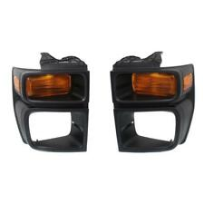 New FO2525103C, FO2524103C CAPA Parking Light Set for Ford E-250 2008-2014