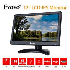 Eyoyo High Quality LCD IPS Color Monitor Display HDMI VGA AV BNC For PC Camera