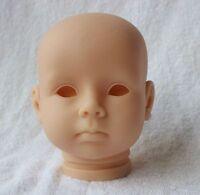 DIY Reborn Baby Doll Kits Soft Body Vinyl Accosseries 3/4 Arms+3/4 Legs+Head Toy