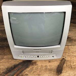"Magnavox MC13D1MG01 13"" Retro Gaming CRT TV September 2002 VCR NOT Working"