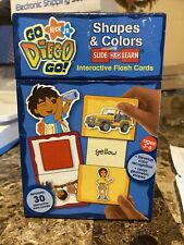 Go Diego Go Flash Cards