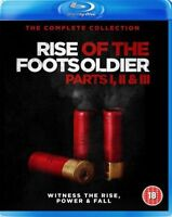 Altezza Of The Footsoldier Trilogia(3 Film) Blu-Ray Nuovo Blu-Ray (SIG530)