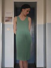Sous robe M L 50er Chemise Rockabilly Vert TRUE VINTAGE 50 s Full-Length Slip