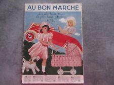 CATALOGUE ETRENNES JOUETS AU BON MARCHE MAISON BOUCICAUT - DECEMBRE 1939