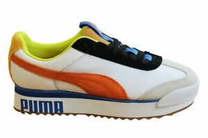 Puma x Roma AMOR Sport Textile Leather Lace Up Womens Trainers 371070 01