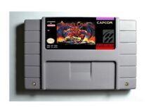 Demon's Crest SNES 16-Bit Game Cartridge USA NTSC Only English Language