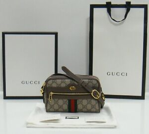 Gucci GG Supreme Ophidia Mini Crossbody Bag 517350