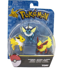 TOMY Pokemon Go eevee evolution family action figure toys 2inches