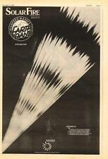 Manfred Mann's Earthband UK Solar Tour advert 1973