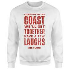 Official Die Hard Christmas jumper/sweatshirt come to the coast Size Medium