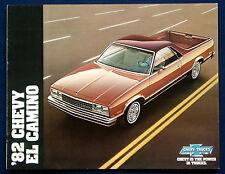 Prospekt brochure 1982 Chevrolet Chevy El Camino (USA)