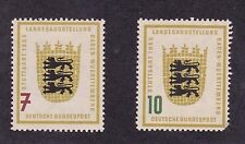 KAPPYSSTAMPS ID#8123 GERMANY 729 - 730 MINT HINGED