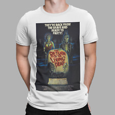The Return Of The Living Dead T-Shirt Movie Horror 70s 80s Classic Retro poster