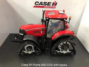 UH 1/32 Case IH Puma 240 CVX With Tracks Tractor Diecast Model NIB UH5333 Toy