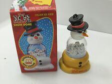 """101 DALMATIANS Snow Dome Globe ~ """"Snowman's Best Friend"""" ~ 1996 ~ Collectable"""