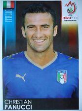 PANINI 288 Christian Panucci ITALIA UEFA EURO 2008 Austria-Switzerland