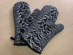 Joy Division Oven Gloves - Brand New, Pair