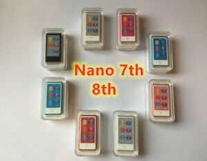 NEW Brand Apple iPod nano 7th 8th Generation 16GB Sealed In Box - All Colors