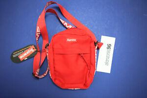 Supreme SS18 Crossbody Bag Red MBGH