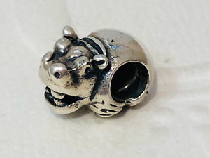 Authentic Pandora Hippo Hippopotamus Charm  790334 - retired