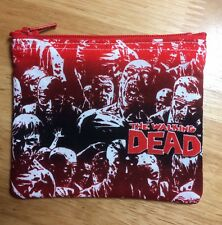 Walking Dead Zombie Horror Scary handmade Christmas Gift Card Holder Coin Purse