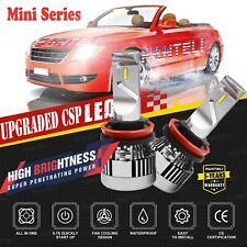 CREE H11 H9 H8 LED Headlight Bulbs Kit Low Beam Fog Lights 3500W 6000K 525000LM