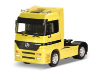 Mercedes-Benz Actros Yellow 1:32 Scale Welly 32280Y Super Haulier