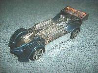2000 HOT WHEELS KRAZY 8S SLIVER & BLUE 1:64 DIECAST CAR - NICE