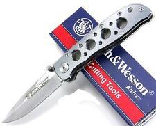 Couteau Smith&Wesson ExtremeOps Lame Acier 440C Manche Aluminium SW105H