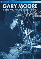 GARY MOORE - LIVE AT MONTREUX 1990 - NEW DVD