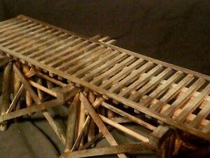 OSCALE TRAIN TRACK DETAIL BRIDGE ATLAS LIONEL MTH K-LINE INTERMOUNTAIN WEATHERED