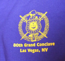2 Pack: Omega Psi Phi 2016 80th Grand Conclave T Shirt: Purple XL