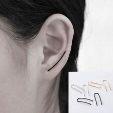 Simple U Ear Climber Ear Stud Unique Korean Fashion  Women Earrings Jewelry Gift