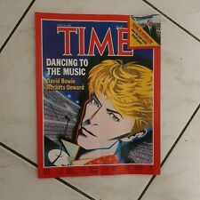 COVER magazine DAVID BOWIE TIME