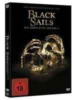 Black Sails - Die komplette Season 4 (finale Staffel)[4 DVD's/FSK 18/NEU/OVP]