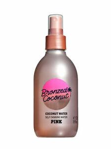 Victoria's Secret Pink Bronzed Coconut Self-Tanning Water 8 Oz