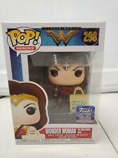 Wonder Woman with hollywood bag funko pop 298