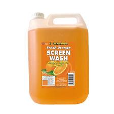 Silverhook ORANGE Scent Car Windscreen Screen Wash Concentrate Cleaner 5L