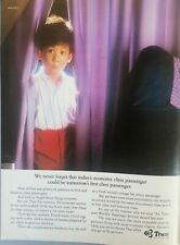 Thai Airways - 1991 print ad