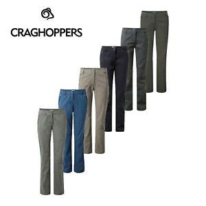 Womens Craghoppers Kiwi Pro Stretch Casual Walking Golf Trousers CWJ1072 RRP £50