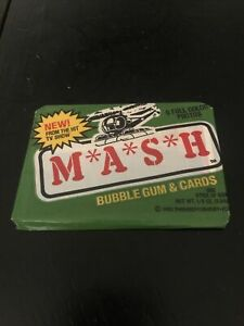 Unopened 1982 Donruss MASH Wax Pack Trading Cards
