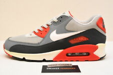 Nike Air Max 90 Essential sz 10.5 Infrared Gray Classic 2013 Vintage 537384 011